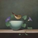 Sarah Siltala, Summer Song, oil, 14 x 14.