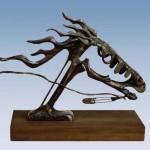 Allan Houser, War Pony, bronze, 24 x 8 x 33.