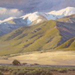 Chris Morel, San Luis Valley, oil, 24 x 36