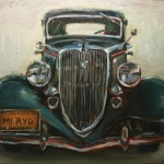 Bradford J. Salamon, 1934 Ford, oil, 30 x 40.