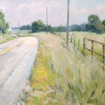 John P. Lasater IV, Country Road, oil, 24 x 30.