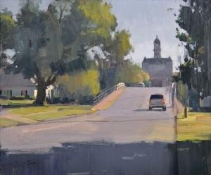 John P. Lasater IV, Memory Lane, oil, 20 x 24.