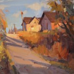 John P. Lasater IV, Rural Colors, oil, 11 x 14.