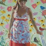 Peggi Kroll-Roberts, Daydream, oil, 24 x 20.