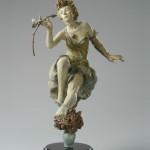 Lorraine Vail, Fragrance, bronze, 29 x 16 x 18.