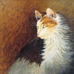 Sarah Lewis, Pawley, oil, 12 x 16.