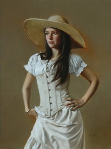 William Whitaker, Antique, oil, 12 x 9.