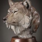 Ken Rowe, With Age Comes Wisdom, bronze, 16 x 13 x 16.