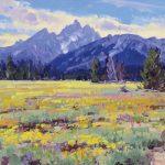 Lanny Grant, Pilgrim Meadows, oil, 12 x 16.