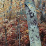 Brenda Hendrix, Portrait of Autumn, oil, 30 x 36.