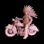 Ed Natiya, War Pony, bronze, 19 x 22 x11.