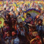 The Gathering by Scott Burdick, winner of the Buyers' Choice Award at Prix de West.