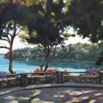 Deborah Newman, Island View, oil, 24 x 30.