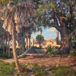 West Fraser, Testament, Cumberland Island National Seashore, oil, 24 x 30.