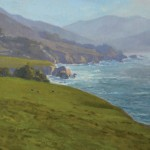 Michelle Jung, Coastal Pasture, oil, 18 x 24.