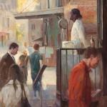 Todd Connor, Aspirations, oil, 30 x 24.