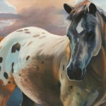 Susan Sheets, Proud, oil, 24 x 36.
