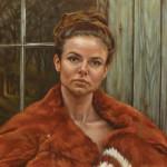 Mervyn Vowles, Study for Six More Weeks, oil, 18 x 20.