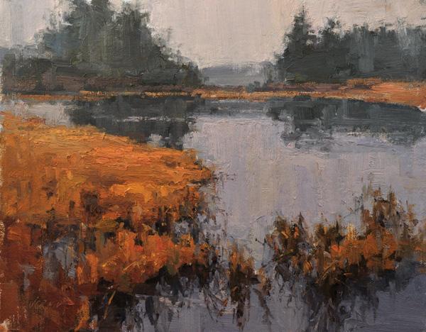 Valerie Craig, Autumn Sonnet, oil, 11 x 14.