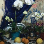 Zachery Elletson, Orchids, oil, 24 x 20.