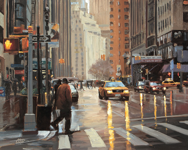 Craig Nelson, Out and About, oil, 24 x 30.