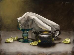 Jeremiah J. White, Memory, oil, 9 x 12.