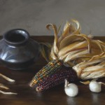 Michael DeVore, Maize, oil, 14 x 18.
