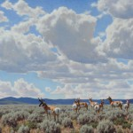 Tucker Smith, Wyoming Sky (2008), oil, 40 x 50. Autry National Center, Los Angeles; 2009.11.1.