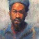 William Kaufmann, Runako, pastel on canson, 16 x 23.