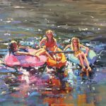 Michele Usibelli, It's All About Summer, oil, 16 x 20.