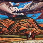William Haskell, Arizona Journey, acrylic, 14 x 18.