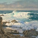 Dennis Doheny, West Swell, oil, 30 x 36.