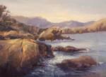 Kathy Cooper, Glistening Mist, oil, 9 x 12.