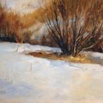 Peggy Immel, Seven Below, oil, 9 x 12.