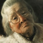 Zimou Tan, Grandma, oil, 16 x 20.
