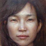 Yunsung Jang, Sori, oil, 8 x 8.