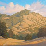 Charles H. White Evening on Mt. Diablo, oil, 36 x 48, $7,800
