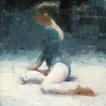 Terry Miura, Late Rehearsal 2, oil, 16 x 12.