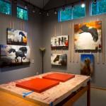 Craig Kosak's art studio on Whidbey Island, WA