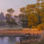 Dennis Doheny, October, Elkhorn Slough, oil, 20 x 24.