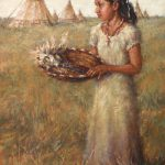 Todd A. Williams, Early Harvest, Inshata Theumba (Bright Eyes), Thurston County, oil, 30 x 20.