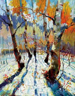 Winter Light by Patrick Matthews