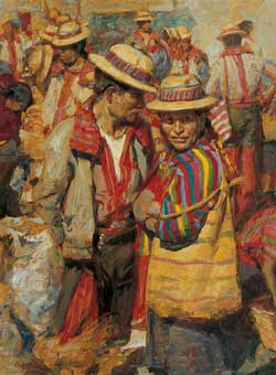 The Market at Todos Santos by William Kalwick