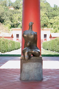 Mother Earth by Henry Moore at Clos Pegase.