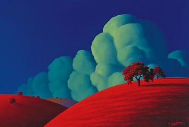 Red Hills by Adam Licsko