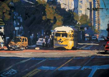 Trolley on Market Street by Scott Prior