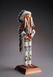 Beaded Doll by Jamie Okuma