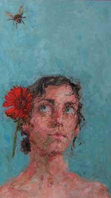 Self-Portrait, Distracted by Jennifer Balkan