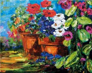 Garden Splendor by January Jorgenson