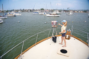 A visit with plein-air painter debra Huse at her studio in Newport Beach, CA